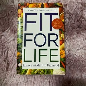 FREE ADD ON fit for life book